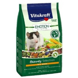 Корм для крыс Vitakraft Emotion Beauty Selection All Ages, 0,6кг
