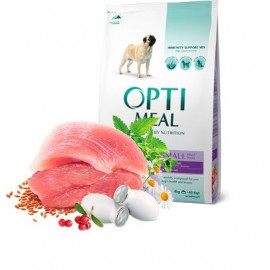 Сухой корм с уткой для собак малых пород Optimeal Dog Dog Adult Small