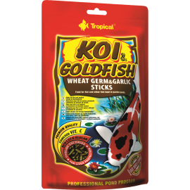 Корм для рыб Tropical KOI & Goldfish Wheat Germ & Garlic Sticks