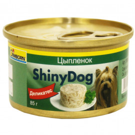 Консервы для собак Gimborn Shiny Dog, с курицей, 85г фото